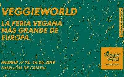 Green & Great asistirá a la VeggieWorld en Madrid